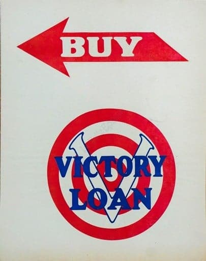 Buy Victory Loan Vintage Poster