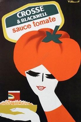 Crosse & Blackwell Vintage Poster
