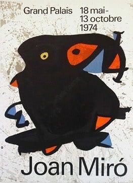 Joan Miro Vintage Poster