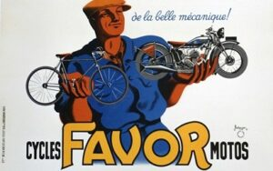 Favor Vintage Poster