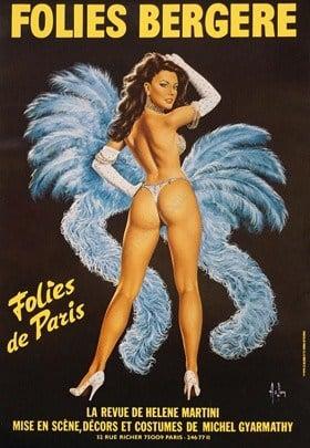 Folies Bergere Vintage Posters