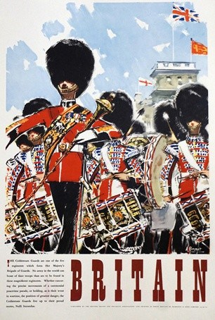 Britain Vintage Poster