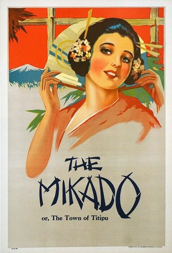 The Mikado Vintage Poster