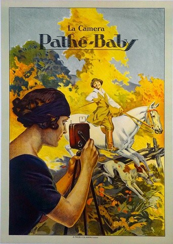Pathe Baby Vintage Poster