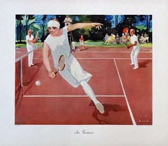 Tennis Vintage Poster