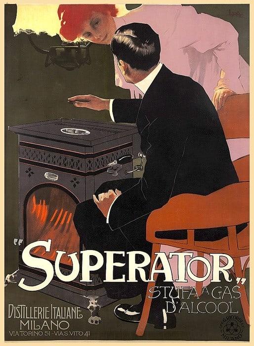 Superator Vintage Poster