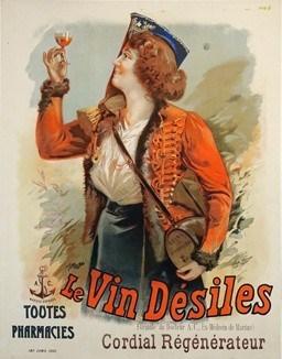 Le Vin Desiles Vintage Posters