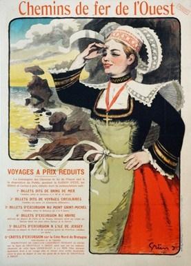 Chemin Vintage Poster