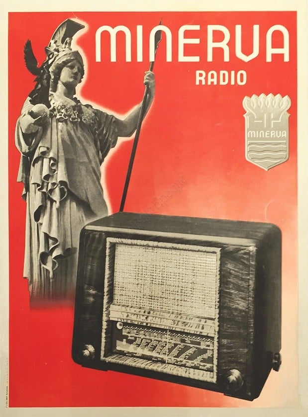 Minerva Vintage Posters